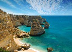 Portugal Algarve Beaches Women Eden Resort Albufeira