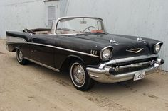 Topless Classic: 1957 Chevrolet Bel Air - http://barnfinds.com/topless-icon-1957-chevrolet-bel-air/