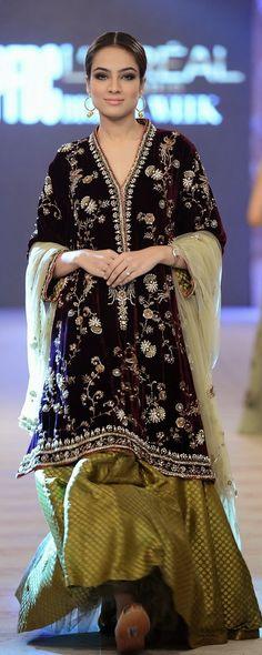 Pinterest @Littlehub    Misha Lakhani Bridal Fashion Week 2014