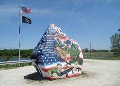 Freedom Rock in Iowa