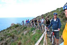 Biking tour near Trapani! :)