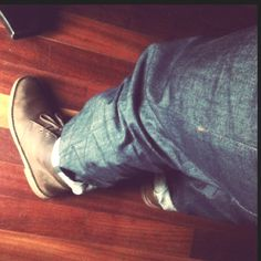 Naked and Famous x Clarks. Raw Denim, Clarks, Naked, Mens Fashion, Boots, Outfits, Clothes, Moda Masculina, Crotch Boots