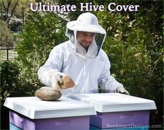 The best hive cover around for your apiary!  Click our websites link www.beesmartdesigns, to check out all our products. #bee #bees #beesmart #hive #hives #hivecover #ultimate #cover #apiary #beekeeper #beekeep #beekeeping #bee:bee: #savethebees #pollinate #pollination #englishgarden #honey #honeybees #nector