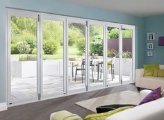 Master White 4.8m (approx 16ft) Bifold Doors