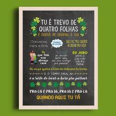 Trevo (Tu)   anavitoria feat. Tiago Iorc - A4 + Moldura - Sereiarte #anavitoria #quadro #decor