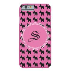 Empowerment (#Scotties) Monogram Barely There iPhone 6 Case  #iPhone6Case #monogram #custom