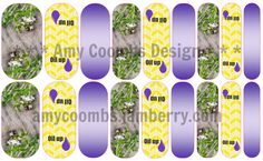 Essential Oils Nail Wrap  - contact me to order  amycoombs.jamberry.com