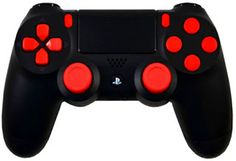 playstation 4 mod controllers ps4 modded controllers ps4 red out playstation 4