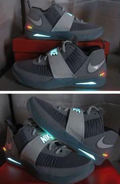 Automático Nike Zapatillas Plata Elegante Diseño Zoom Penny