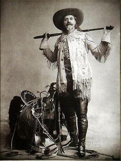 Buffalo Bill Cody by Burke, 1892