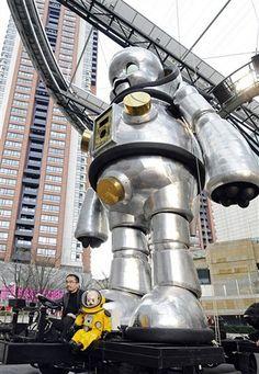 JAPAN-ART-TECHNOLOGY-ROBOT