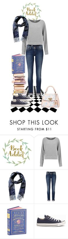 """In the Mood for a Whimsical book"" by underwater-city ❤ liked on Polyvore featuring rag & bone, Phenix, Tommy Hilfiger and Converse"