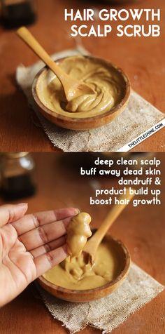 Coconut Oil Hair Spray, Easy German Recipes, Hair Oil, 4c Hair, Diy Beauty, Beauty Tips, Beauty Hacks, Scalp Scrub, Natural Hair Care
