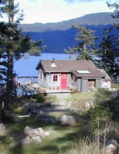 Orcas Island Wa. lodging...stayed in this very cabin...3 days of heaven!