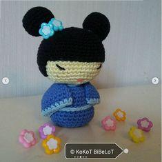 Hanako, por @kokot.bibelot desde Instagram Crochet Hats, Photo And Video, Instagram, Street, Patterns, Pictures, Knitting Hats