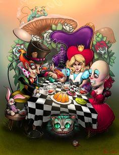 Wonderland by Denny Kotian, via Behance