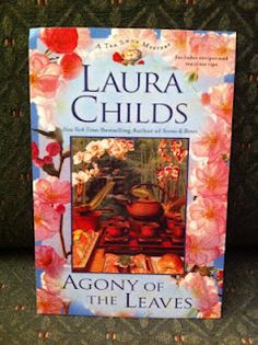 A tea shop mystery by Laura Childs. I haven't read it, but it sure looks cozy and inviting.