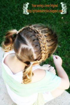 Girly Do Hairstyles: By Jenn: Braided and Banded