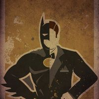 This guy's art is great, the two-faced super hero art is the best