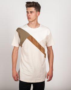 Camiseta longer lisa Blanco