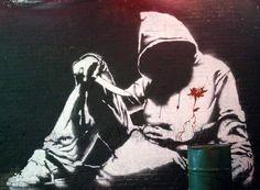 URBAN ART- banksy