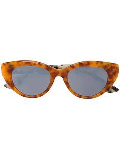 78cc50b20e0726 Achetez Mcq By Alexander Mcqueen Eyewear lunettes de soleil à monture  papillon.