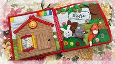 Workshop Elifçe: Vývojové kniha Příběhy №24 / Tichý knihy Pohádky