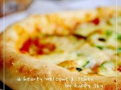 HBで簡単 もっちりピザ生地。の画像 Macaroni And Cheese, Bakery, Brunch, Food And Drink, Pizza, Bread, Ethnic Recipes, Happy, Pancake