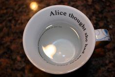 """""""Alice"""" mug :-)"""