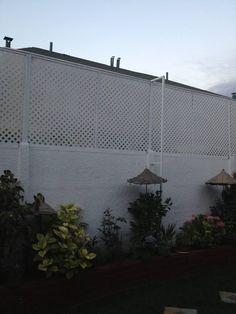 consulta aumentar altura muro de bulldozer - page 3 - De Todo Un Poco - Conduce Chile Agaves, Fence Gate Design, Sloped Garden, Privacy Fences, Home Deco, Interior Architecture, Porch, Brick, New Homes