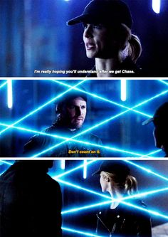 """""""I'm really hoping you'll understand after we get Chase"""" - Felicity and Oliver #Arrow"""