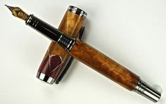 Handcrafted Wooden Pen Hand Turned Fountain by MikesPenTurningZ, $119.00