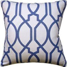 Ryan Studio's Gazebo Decorative Pillow 22x22 - Fig Linens