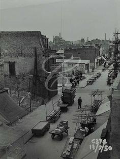 Chrisp street 1951
