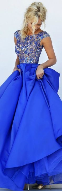 New Arrival Sexy Prom Dress,Prom Dresses with Beaded,Royal blue Prom Dresses,Long Prom Gown,382