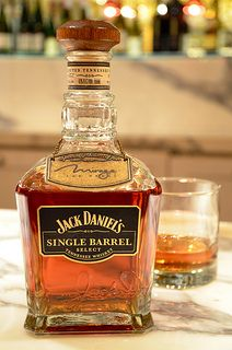 Serving the world's first charcoal-mellowed single barrel Tennessee whiskey, The Mirage joined forces with whiskey-giant #JackDaniel's to produce the Single Barrel Mirage Personal Selection.  #whiskey