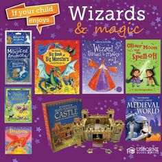 If your child enjoys Wizards & Magic. They might like...