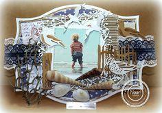 "Ineke""s Creations: Seashore en demo Zusjes Hobbyhoekje"