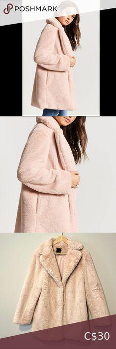 I just added this listing on Poshmark: Forever 21 soft pink faux fur jacket. #shopmycloset #poshmark #fashion #shopping #style #forsale #Forever 21 #Jackets & Blazers