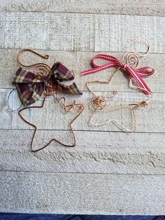 Check out this item in my Etsy shop https://www.etsy.com/listing/496042763/handmade-copper-star-christmas-ornaments