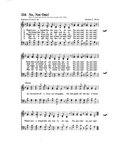 No, Not One! Gospel Song Lyrics, Christian Song Lyrics, Gospel Music, Christian Music, Music Lyrics, Christian Life, Hymns Of Praise, Praise Songs, Worship Songs