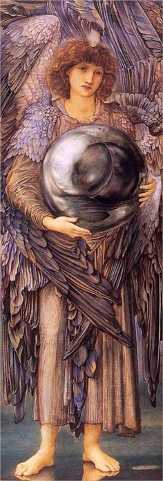 Days of Creation, The 1st Day - Edward Burne-Jones