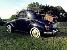 Fiat Topolino in holiday mode