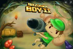 Ayuda a este chico en esta aventura donde tiene que recorrer un laberinto y dispara a los bloques para poder pasar poco a poco. http://www.ispajuegos.com/jugar8534-Bazooka-Boy-2.html