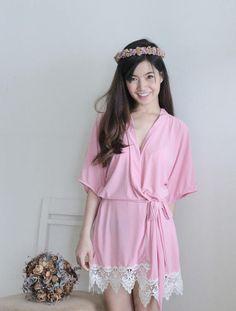 Baby Pink Bridesmaid Robes Bridal Robe Bridesmaid Gift Bridal