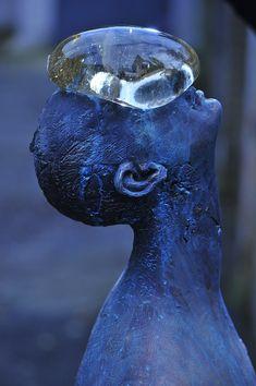 Ukrainian artist Nazar Bilyk created this sculpture called Rain