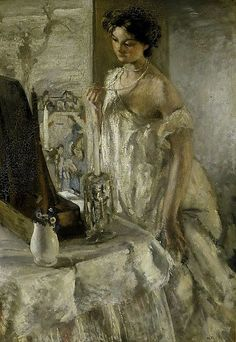 The Pearl Necklace by Henry Tonks (1905)