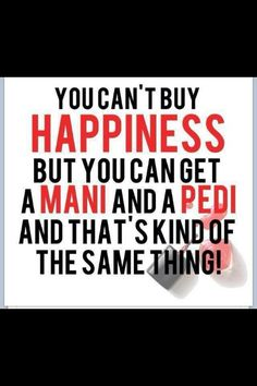 Mani Pedi happiness Pinned for Pink Pad, the women's health app with built-in social network. Mani Pedi happiness Pinned for Pink Pad, the women's health app with built-in social network. Manicure Quotes, Nail Quotes, Tech Quotes, Spa Quotes, Pedicure Colors, Manicure E Pedicure, Mani Pedi, Pedicures, Pedicure Ideas