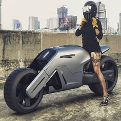 21 Futuristic Gadgets You Can't Believe they Available now Futuristic Motorcycle, Futuristic Cars, Moto Bike, Motorcycle Bike, Motard Sexy, Sport Logos, Bike Pic, Motorbike Design, Concept Motorcycles