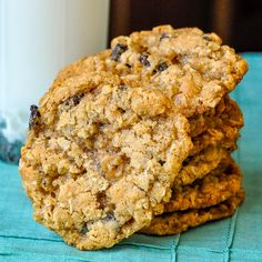 Best Oatmeal Cookies, Oatmeal Cookie Recipes, Cookie Desserts, Just Desserts, Old Fashioned Oatmeal Cookies, Bbq Desserts, Oatmeal Cake, Cookie Favors, Plated Desserts